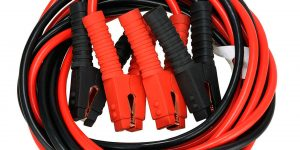 How do you charge a car battery with jumper cables