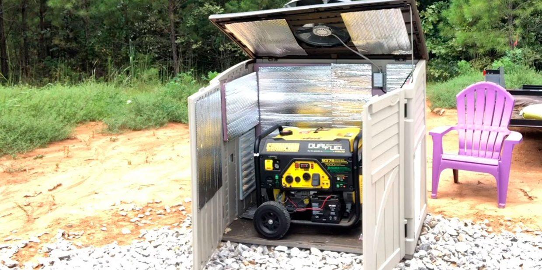 How to make generators quiet