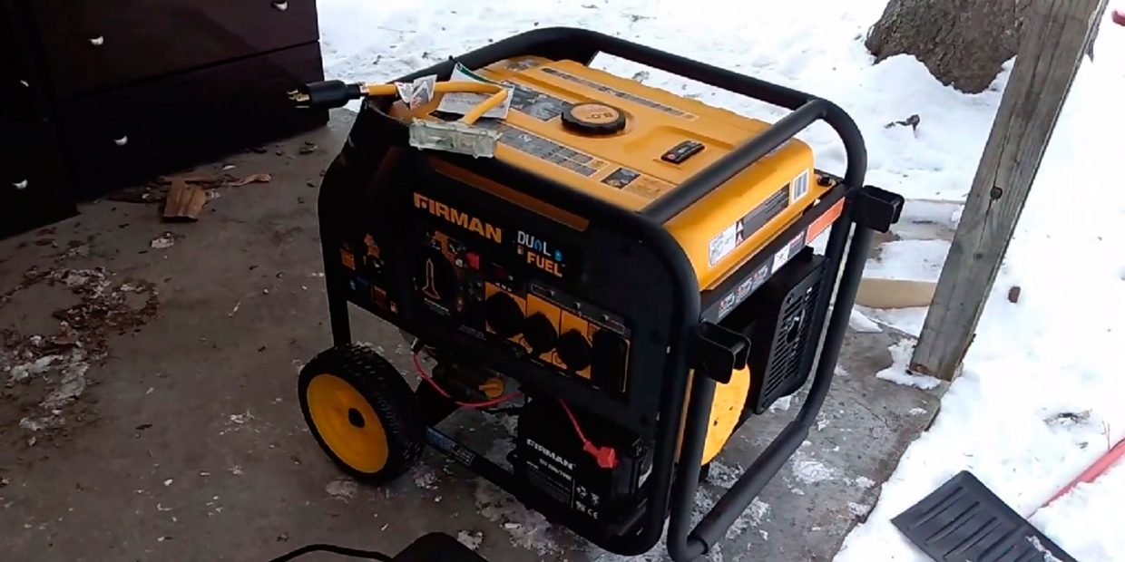 How to start a generator that has been sitting