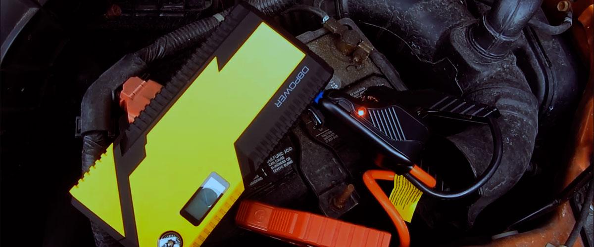 jump starter recharge battery