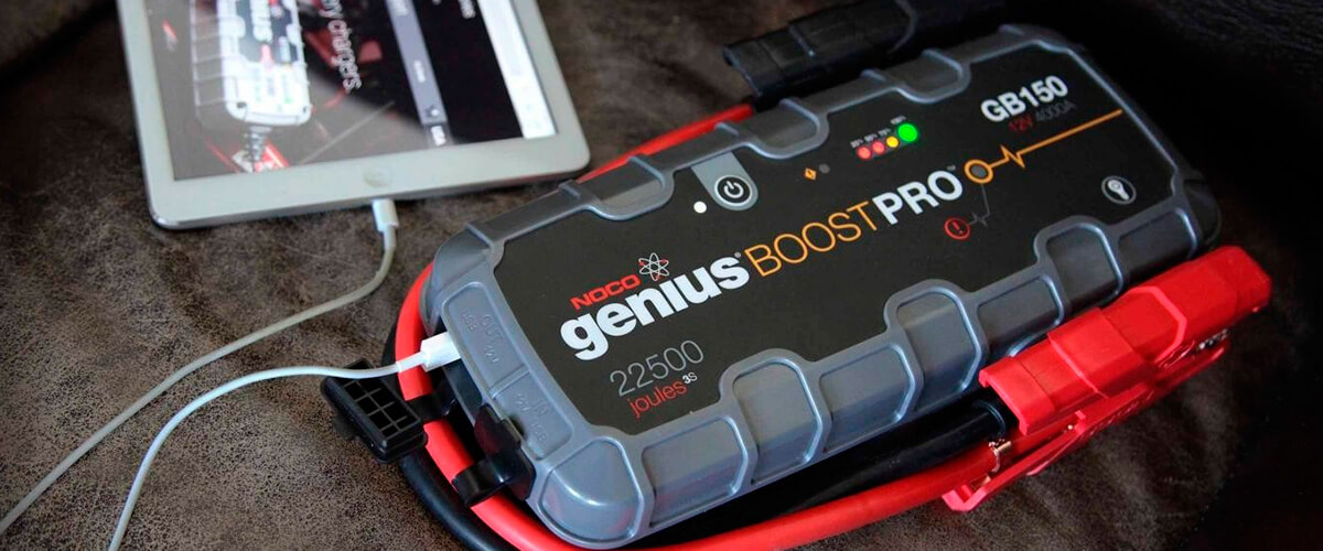 portable lithium ion jump starter