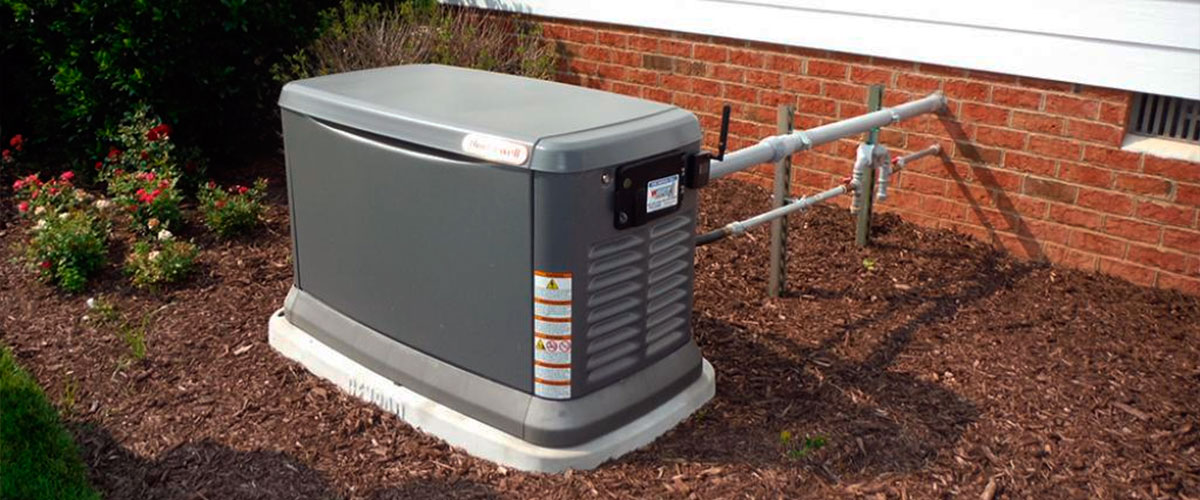 connect generator to house