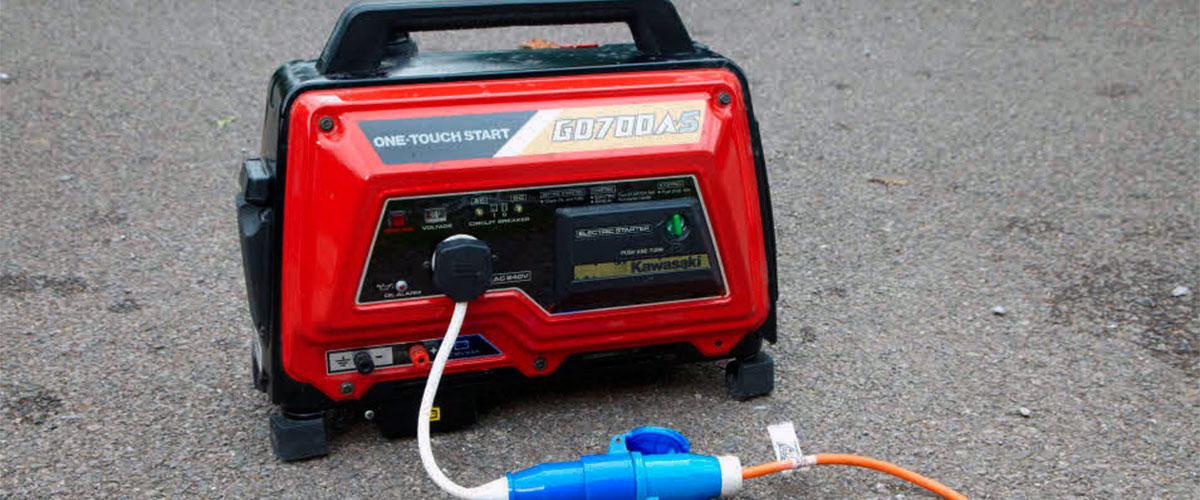 ground a generator
