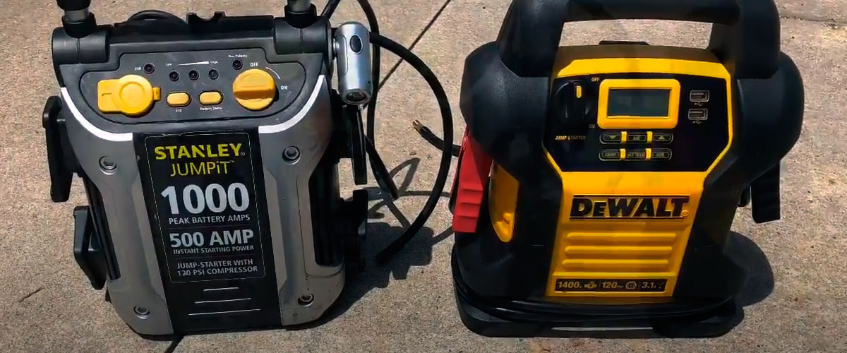 jump starters with air compressor