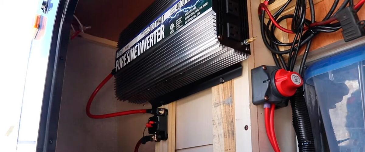 installing the inverter